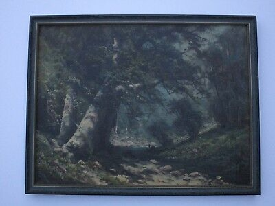 Antique 19Th To 20Th Century Painting Early California Landscape Vintage Mystery