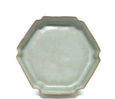 """A """"Guan-Type"""" Chinese Porcelain Dish"""