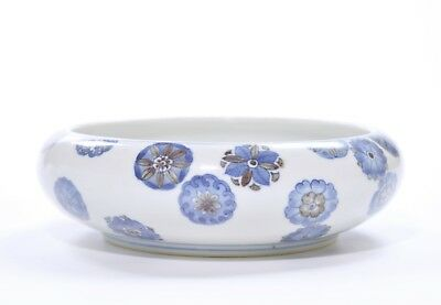 A Chinese Blue and White Porcelain Brush Washer