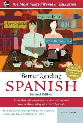 Better Reading Spanish, 2nd Edition (Better Reading Series) by Yates, Jean Book