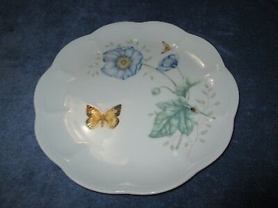 """Lenox Butterfly Meadow MONARCH  Salad Plate Luncheon Plate 9"""" Excellent !"""