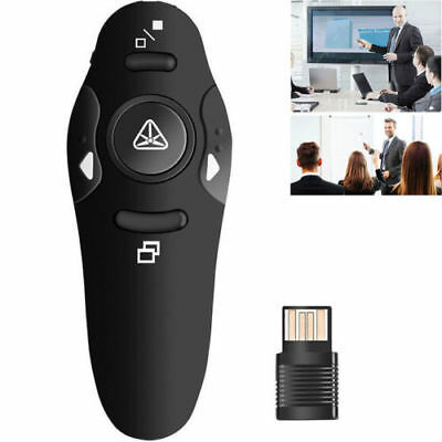 Wireless USB Remote Control Laser Pointer Pen PPT Control PowerPoint Presenter