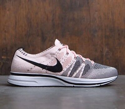 newest 36517 c7d73 New Nike Flyknit Trainer Sunset Tink Black Whtie AH8396-600 SZ 15 NO BOX TOP