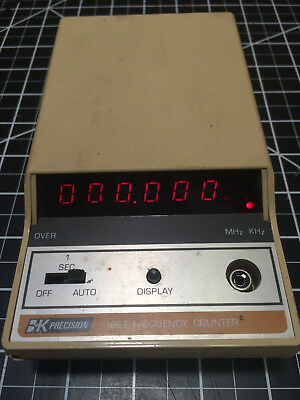 BK Precision Frequency Counter Model 1827 from 1976  B&K