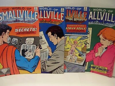 The World Of Smallville  + The World Of Metropolis - Both Complete Sets - Vf/nm