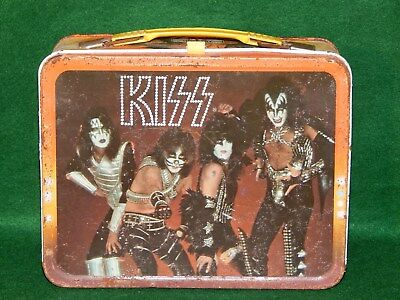 Vintage 1977 Kiss Lunchbox Aucoin King Seeley No Thermos