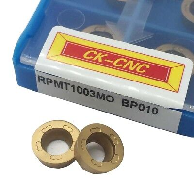 RPMT1003MO BP010 Threading Carbide Inserts Cutting tool For Lathe CNC