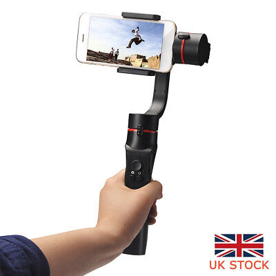 UK 3-Axis Handheld Mobile Phone Gimbal Stabilizer for Smart Phone Action Camera~