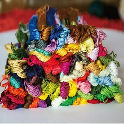 Stranded Cotton Embroidery Threads Assorted - 30 skeins - all different colours