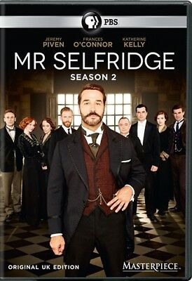 MR SELFRIDGE TV SERIES COMPLETE SECOND SEASON 2 New Sealed DVD Masterpiece