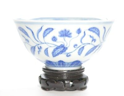 A Very Fine Chinese Blue and White Palace Bowl