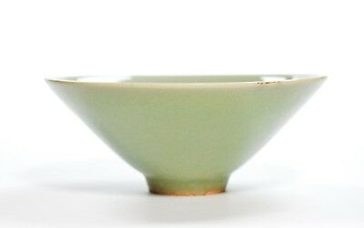 A Chinese Celadon Conical Bowl