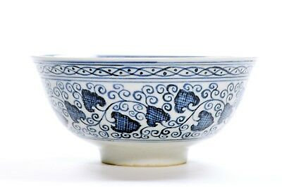 A Chinese Blue and White Porcelain Bowl