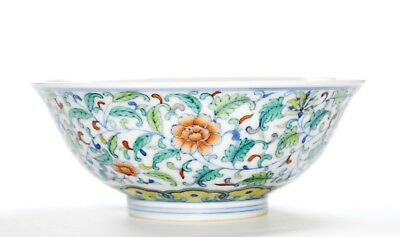 A Very Fine Chinese Porcelain Bowl