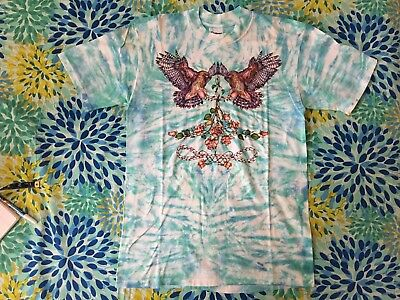 Vintage Grateful Dead T Shirt Lisa Chapman Tie Dye 2 sided 1988 Amazing Design