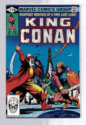King Conan #7(VF) and #8(VG), Marvel, 1981,  Robert E Howard character