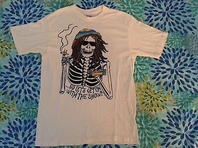 Vintage Grateful Dead T- Shirt Rasta 1985/86 - Rare Susan Jean  two sided