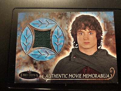 2006 Topps Lord of the Rings Evolution Frodo Cloak Elijah Wood Costume LOTR
