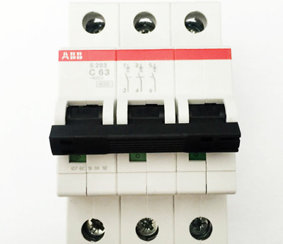 1Pc New  Abb S203-C63 3P 63A