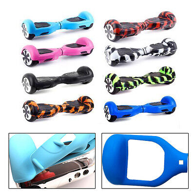 Rubber Silicone Case Cover Skin For 2 Wheels Self Balancing Scooter Hover Board