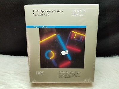 "IBM Disk Operating System Version 3.30 - 3.5"" & 5.25"" Diskettes (Sealed)"