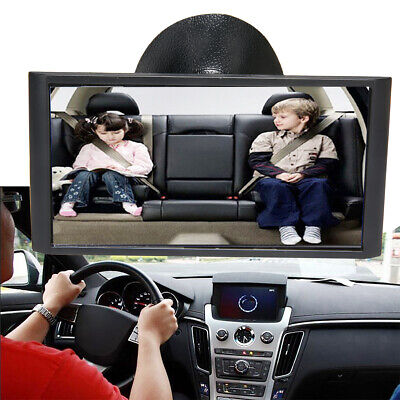 1x 12cm Car Easy View Rear Back Seat Baby Child Safety Mirror Suction Mirror~