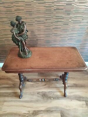 Solid Antique Mahogany Occasional Table