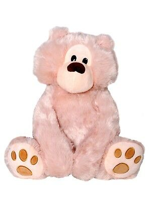 TEDDY BEAR XL 40cm  SOFT CUDDLY PLUSH  MOTHERS DAY FRIEND GIFT PRESENT TOY