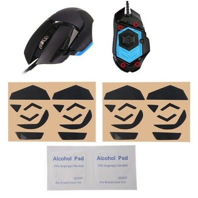 4 Set Teflon Mouse Feet Mouse Skates Pad 0.6mm for Logitech G502 Laser Mouse
