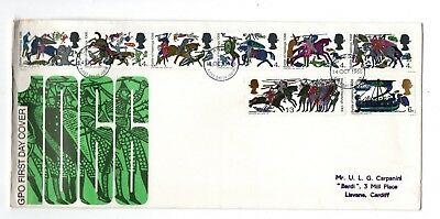 1966 1066 Battle Of Hastings - Hastings Cds Fdc From Collection J2