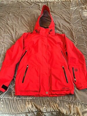Ladies Red Bogner Ski Jacket Size 12 / 40 in Excellent Used Condition