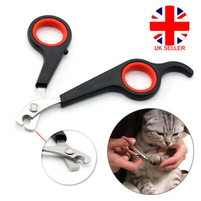 Small Animal Pet Cat Mini Cup Dog  Claw Nail Clippers Trimmers Scissors Easy Use