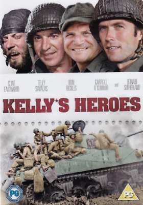 Clint Eastwood, Telly Savalas-Kelly's Heroes DVD NEW