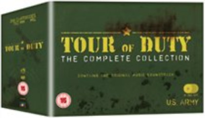 Stephen Caffrey, Terence Knox-Tour of Duty: The Complete Series DVD NEW