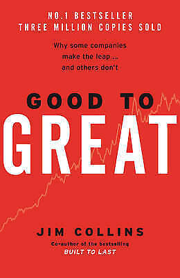 Good To Great, Collins, Jim, New, Hardcover