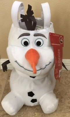 """Disney Frozen """"OLAF"""" Christmas Standing Boot Stocking 13"""" NWT"""