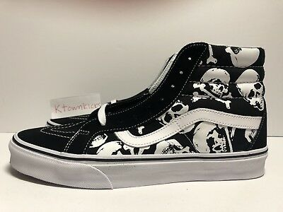 97f8d12788f1 VANS SK8-HI REISSUE MOTO LEATHER SHOES SKATE Men's Size 7.5 Women's ...
