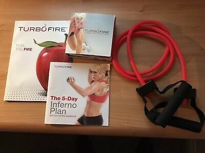 Turbo Fire Intense Cardio Conditioning 10 DVD Workout Set