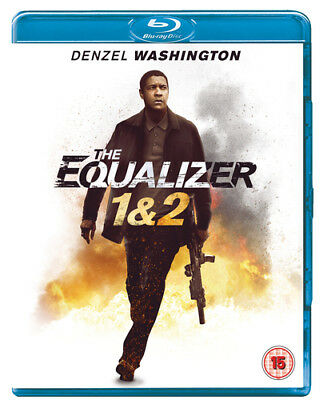 The Equalizer 1&2 DVD (2018) Denzel Washington ***NEW***