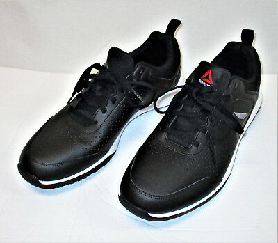 Reebok Men s CXT TR Athletic Shoes Training Sneakers black Leather Size 10 04b6bc654