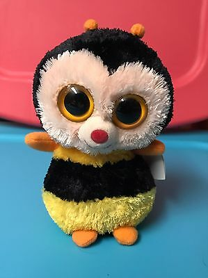 Ty STING -Yellow Black Plush Honeybee 6