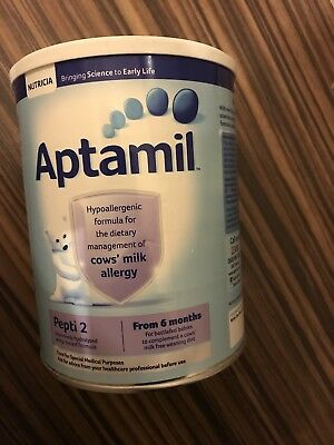 NEW APTAMIL PEPTI 2 From 6 months 800g COWS MILK ALLERGY