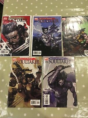 Wolverine Soultaker Marvel Limited Series 1-5 Set