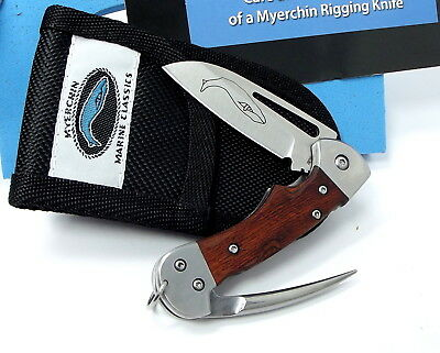 """Tested at Sea"" Myerchin Knives  WF377 Crew Rigging Knife"