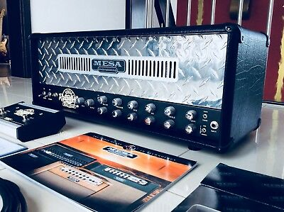 Mesa Boogie Single Rectifier Solo Head 50 II Best Condition EU Petrucci Sound