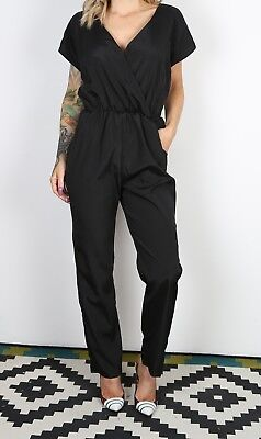 Jumpsuit Plain UK 10 Small  All in one  90's (B2C)