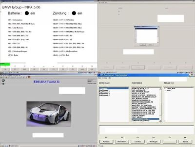 BMW Diagnose Software Paket - Ediabas INPA NCS Expert f. Windows inkl.F Modelle