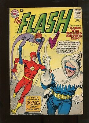 Flash #134 (5.0) Elongated Man And Captain Cold