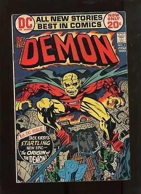 The Demon #1 (6.0) 1St Appearance!