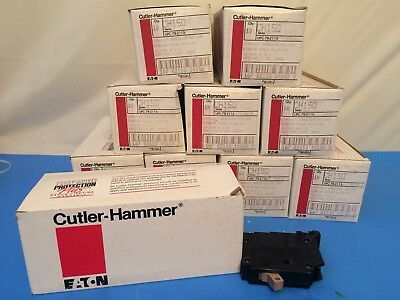 Case Of 100 CUTLER HAMMER CH150 50 Amp Single Pole CIRCUIT BREAKERS NEW NOS